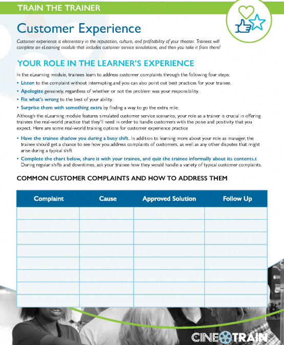 CineTRAIN-Trainer-CustomerExperience